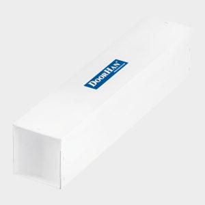 Новая надежная упаковка в белый пятислойный картон