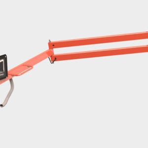 Светодиодный светильник с кронштейном для освещения дока