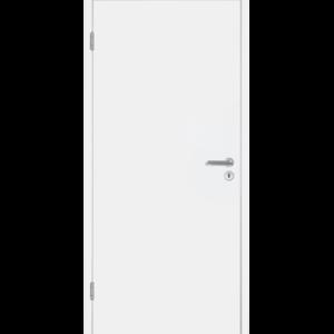 Л/к покрытие белого цвета RAL 9016 Вариант исполнения с фальцем