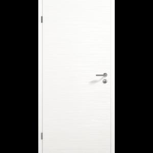 Рифленая поверхность Duradecor белого цвета RAL 9016 НОВИНКА Исполнение с фальцем