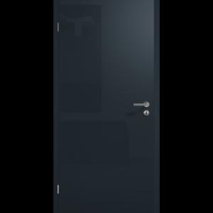 Глянцевая поверхность цвета серого антрацита RAL 7016 НОВИНКА Исполнение с фальцем
