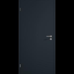 Duradecor, ультраматовая поверхность цвета серого антрацита RAL 7016 НОВИНКА Исполнение с фальцем