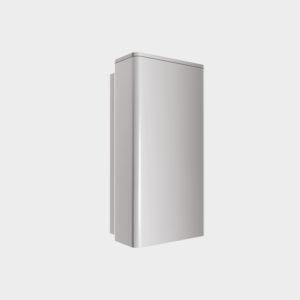 Артикул «BS800х255х205». Построен на базе бампера 450 x 250 x 100 мм. Бампер стальной 800 х 255 х 205 мм (внешние размеры) с демпферной вставкой. Является гибридным бампером, представляет собой комбинацию подвижного бампера и бампера с металлической пластиной. Состоит из держателя, демпфирующей вставки, изготовленной из резиновой крошки и подвижной прочной внешней стальной крышки, имеющей возможность двигаться вслед за движениями кузова автомобиля. Возможно использовать только с платформами с выдвижной аппарелью длиной 1 000 мм. Установочные размеры смотрите в разделе «Чертежи»