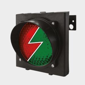 Светофор Traffic-light-LED предназначен для обеспечения безопасного движения грузового автомобиля и погрузчика в момент подъезда/отъезда и процесса погрузки. Может быть подключен к блокам управления серий DCUT-2, DCUT-3.